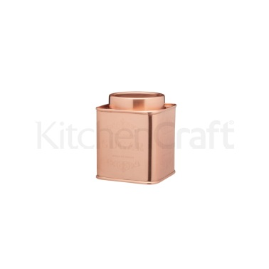 Le'Xpress Stainless Copper Finish Sugar Tin