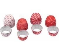 Sweetly Does It Pack of 40 Mini Round Foil Cases