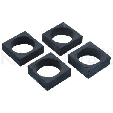 Artesà Set of 4 Slate Napkin Rings