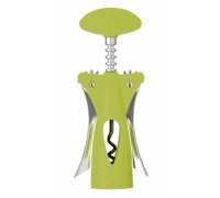 Colourworks Green Wing Corkscrew with Soft Touch Body