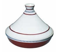 KitchenCraft Mediterranean Ceramic Patterned Large Tagine
