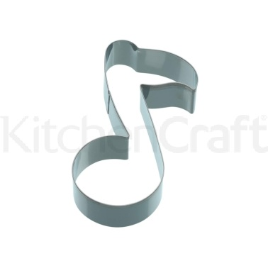 Kitchen Craft 12cm Music Note Shaped Cookie Cutter