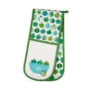KitchenCraft An Apple A Day Double Oven Glove
