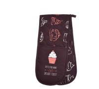 KitchenCraft Chalkboard Double Oven Glove