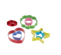 Santa & Friends Stained Glass Window Cookie Cutters
