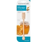 KitchenCraft Wooden Honey Dipper