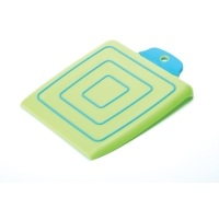 KitchenCraft Polypropylene Anti-Slip Chop & Pour Board