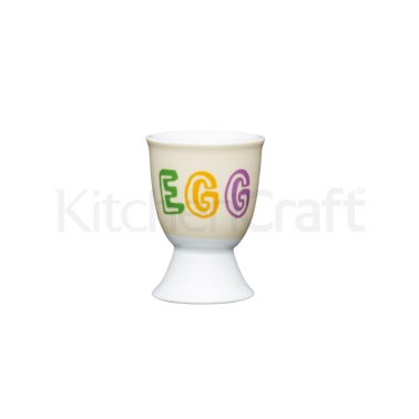 KitchenCraft Children's Dippy Egg Porcelain Egg Cup