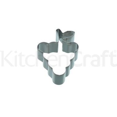 KitchenCraft 8cm Grape Shaped Cookie Cutter