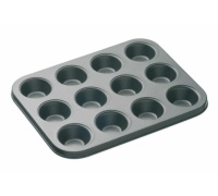 MasterClass Non-Stick 12 Hole Mini Tart Pan