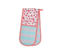 Kitchen Craft Ditsy Double Oven Glove
