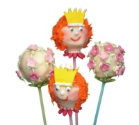 Sweetly Does It Pack of 60 Plastic Coloured Cake Pop Sticks - 15cm