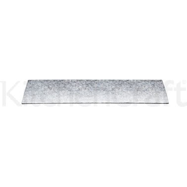 Sweetly Does It Silver 25cm Rectangular Cake Board