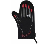 Kitsch'n'Fun 'Cook with Elegance' Diamond Oven Glove