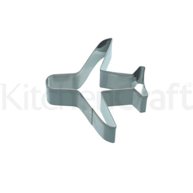 KitchenCraft 9cm Aeroplane Shaped Cookie Cutter