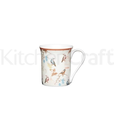 Kitchen Craft Birdcage Fine Bone China Mug
