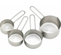 Master Class Stainless Steel 4 Piece Measuring Cup Set
