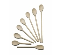 KitchenCraft Beech Wood 30cm Scraper Spoon