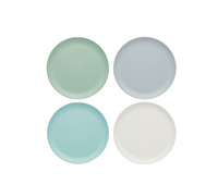 Colourworks Classics Salad and Snack Melamine Plates