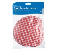 Kitchen Craft Set of 7 Plastic Food Bowl Covers
