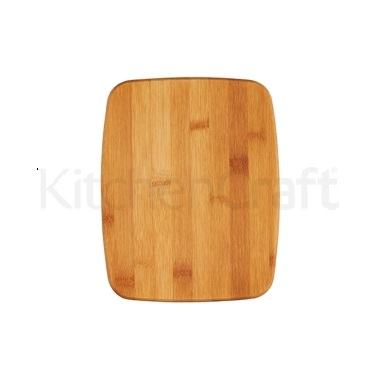 Kitchen Craft Small Reversible Bamboo Chopping Board / Cork Trivet