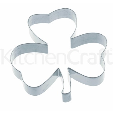KitchenCraft 12.5cm Irish Shamrock Cookie Cutter