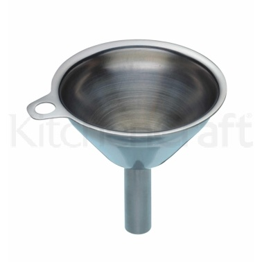 KitchenCraft Stainless Steel 5.5cm Mini Funnel