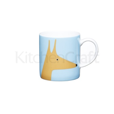Kitchen Craft 80ml Porcelain Fox Espresso Cup