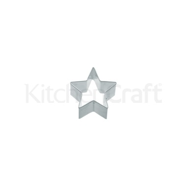 KitchenCraft 4cm Star Shaped Metal Cookie Cutter