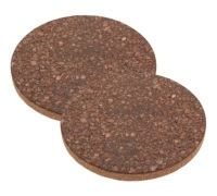 KitchenCraft Natural Elements Set of 2 Cork Trivets