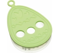 Hoppity Does It Easter Egg 3D Cookie Cutter