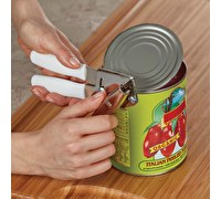 Swing-A-Way Black Comfort Grip Compact Can Opener