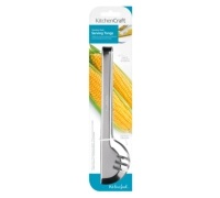 KitchenCraft Stainless Steel Deluxe 24cm Serving Tongs
