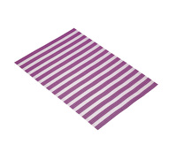 KitchenCraft Woven Purple Stripe Placemat