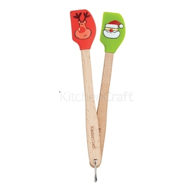 Santa & Friends Mini Spatula Twin Set