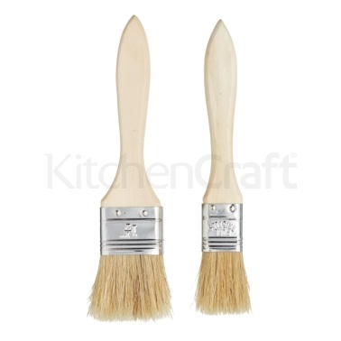 KitchenCraft Set of 2 Wide Pastry Brushes
