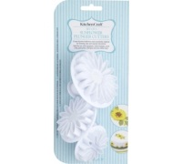 Sweetly Does It Set of 3 Sunflower Fondant Plunger Cutters