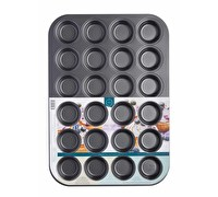 Chicago Metallic Non-Stick 24 Hole Mini Muffin Pan