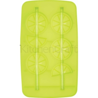 Bar Craft Silicone 'Ice and Slice' Ice Cube Straws