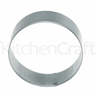 KitchenCraft 7.5cm Round Metal Cookie Cutter