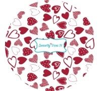Sweetly Does It Pack of 60 Hearts Cake Cases