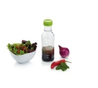 KitchenCraft Display of 12 Salad Dressing Recipe Bottles