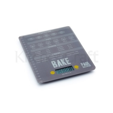 Paul Hollywood Electronic 5kg Add'n'Weigh Platform Scales