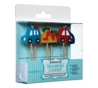 Sweetly Does It Transport Themed Candles