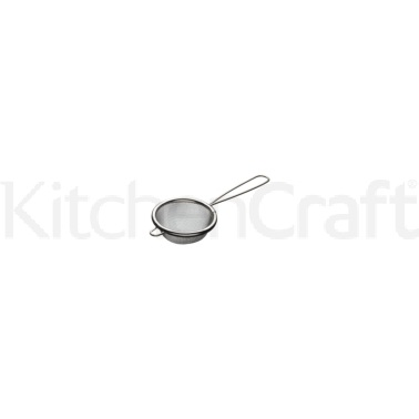 Kitchen Craft Tinned 7cm Round Sieve