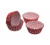 Sweetly Does It Pack of 80 Polka Dot Petit Fours / Treat Cases