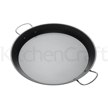 KitchenCraft World of Flavours Mediterranean 40cm Paella Pan