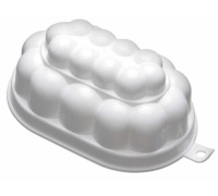 KitchenCraft White Plastic 500ml Jelly Mould