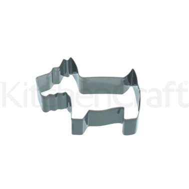 KitchenCraft Medium 9cm Dog Shaped Cookie Cutter