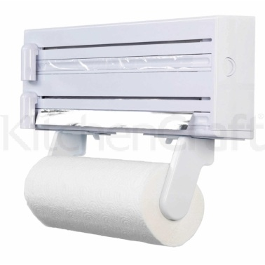 KitchenCraft Cling Film, Foil and Kitchen Towel Dispenser